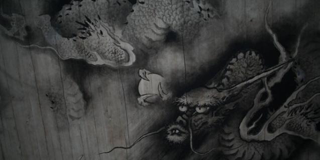 東福寺 法堂天井画龍