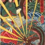 歌川芳艶 本朝武者鏡 二位の尼