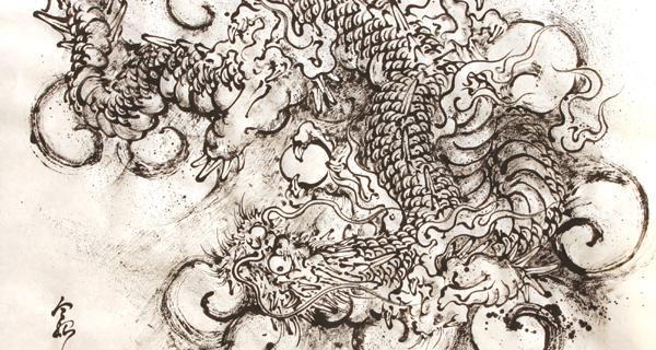 雲龍図(2005/11)