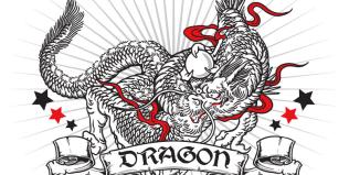 DRAGON 龍 イラストレーター習作
