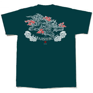 唐獅子牡丹デザイン修正完了!Tシャツイメージ作成しました!