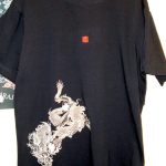 Tシャツ完成!!龍 第1弾