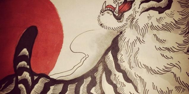 #tiger #tigertattoo #虎