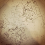 #虎 #龍 #tiger #dragon
