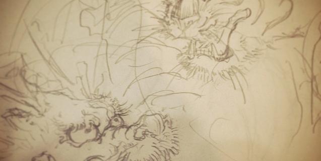 #虎 #龍 #tiger #dragon