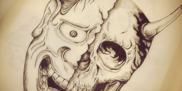 #般若 #skull #nohmask