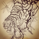 #tiger #tigertattoo #Japanesetattoo #tattoo #刺青 #和柄
