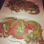 #龍 #dragon #刺青 #tatoo