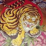 彩色完了! #虎 #tiger #刺青 #tatoo