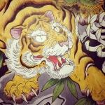 #虎 #tiger #龍 #dragon #刺青 #tatoo