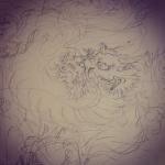 久しぶりの下絵 #dragon #tattoo #irezumi #龍 #刺青 #下絵