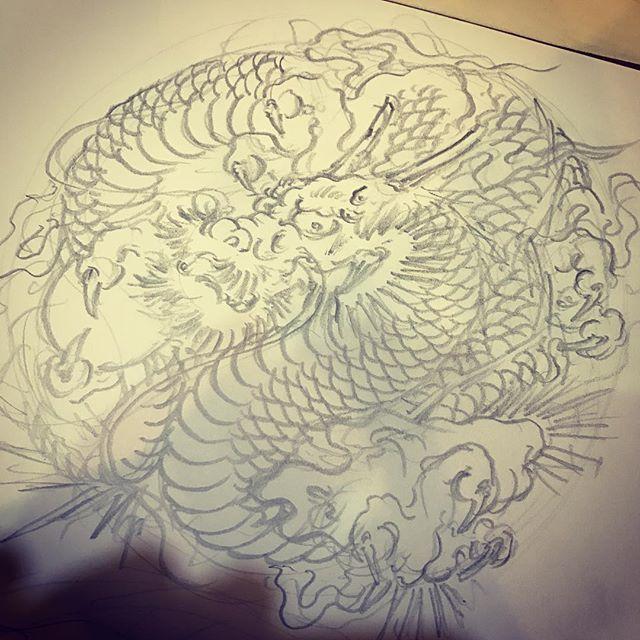 #龍 #dragon #刺青 #irezumi #tattoo