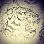 いい感じ#虎 #tiger #tigertattoo #刺青 #irezumi