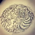 #虎 #tiger #刺青 #irezumi #素材