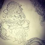 #龍 #dragon #刺青 #irezumi #素材