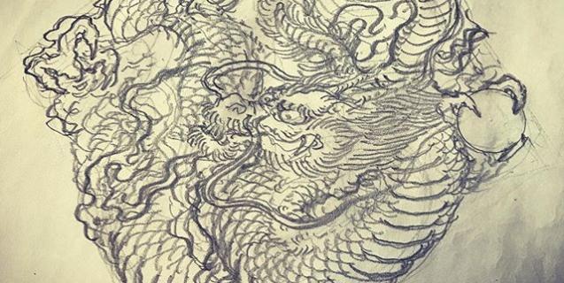 #龍 #dragon #刺青 #irezumi