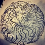 #虎 #tiger #tigertattoo #刺青 #irezumi #素材