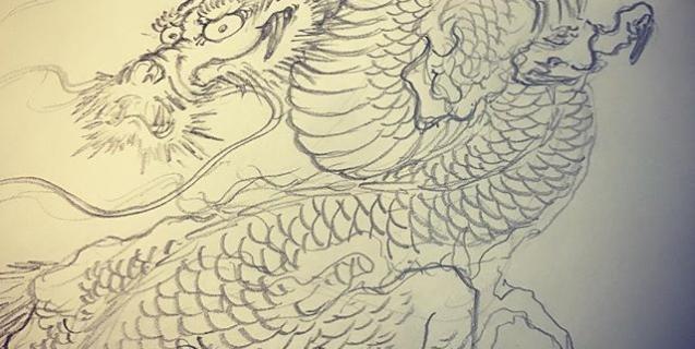 #龍 #dragon #dragontattoo #刺青 #irezumi