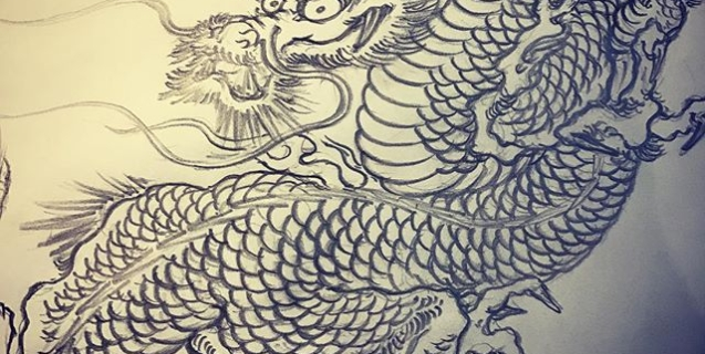 #龍 #dragon #dragontattoo #刺青 #irezumi