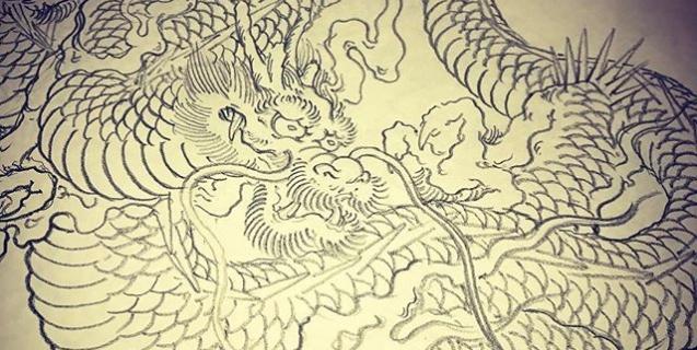 #dragon #龍 #tattoo
