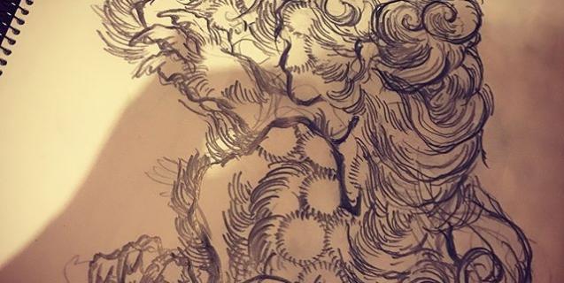 #唐獅子 #karajishi #lion #japaneselion #和柄 #japanesetraditional #刺繍 #embroidery #tattoo #刺青