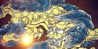 唐獅子の色を悩む。#phoenix #japanesephoenix #鳳凰 #dragon#tigeranddragon #龍 #龍虎#竜 #竜虎 #tiger #虎 #唐獅子 #karajishi #lion #japaneselion #和柄#japanesetraditional #和風 #japanesestyle #刺繍#embroidery #tattoo #刺青