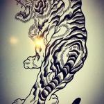 完了!#tiger  #虎  #japaneselion  #和柄#japanesetraditional  #和風  #japanesestyle  #刺繍#embroidery  #tattoo #刺青 #パス #パス化 #vector  #vectorart