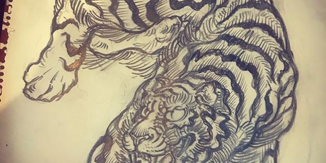 ナスDの部族アース観ながら。#ナスd #地球 #地球征服 #部族アース #dragon #tigeranddragon #龍 #龍虎#竜 #竜虎 #和柄#japanesetraditional #和風 #japanesestyle #刺繍 #embroidery #tattoo #刺青 #パス #パス化 #vector  #vectorart