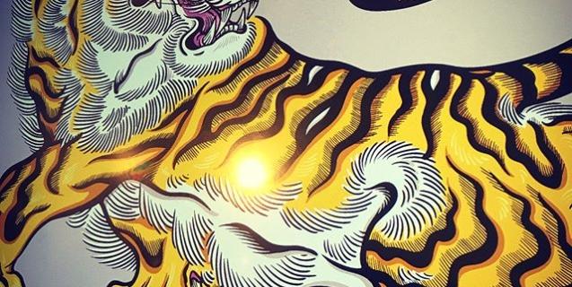 色つけ#illustrator #イラストレーター #tiger #虎 #japaneselion #dragon #tigeranddragon #龍 #龍虎#竜 #竜虎 #和柄#japanesetraditional #和風 #japanesestyle #刺繍 #embroidery #tattoo #刺青 #パス #パス化 #vector  #vectorart #鉛筆画 #鉛筆 #ラフ