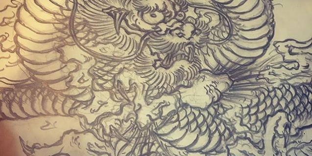 #illustrator #イラストレーター #tiger #虎 #虎のイラスト #虎の絵 #japaneselion #dragon #tigeranddragon #龍 #龍虎 #龍のイラスト #龍の絵 #竜 #竜虎 #和柄 #japanesetraditional #和風 #japanesestyle #刺繍 #embroidery #tattoo #刺青 #パス #パス化 #vector  #vectorart #鉛筆画 #鉛筆 #ラフ